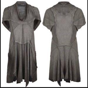 Allsaintd Phinius Burner Steampunk Tunic Dress